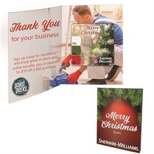 Greeting Card with Square Magnet