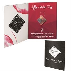 Greeting Card with Wine Charm