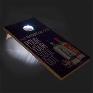 Bag Toss Game Decks (LED Lit)