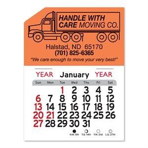Semi Truck Peel-N-Stick® Calendar