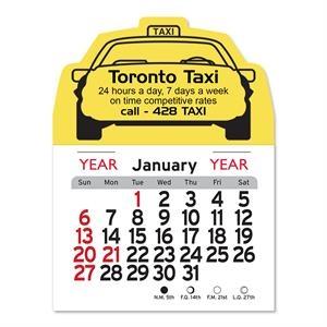 Taxi Peel-N-Stick® Calendar