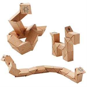 Wooden Snake Puzzle Toy