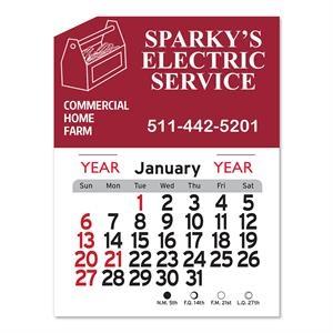 Tools Peel-N-Stick® Calendar