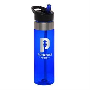 24 oz. TITAN Tritan Plastic Water Bottles