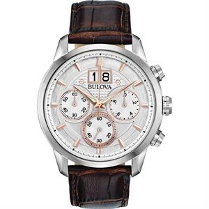 Men's Strap Watch from the Sutton Big Date Collection