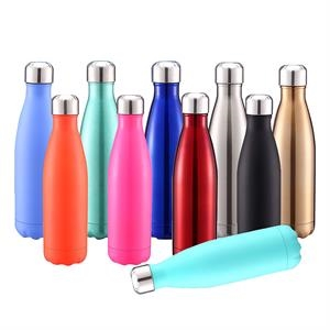 17 oz Double Wall Stainless Steel Vacuum Insulated Bottle