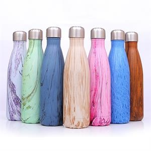 17 oz Stainless Steel Vaccum Insulated Thermal Coke Bottle