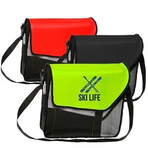 Messenger Bag - Slant flap Laptop bags w/ Shoulder strap