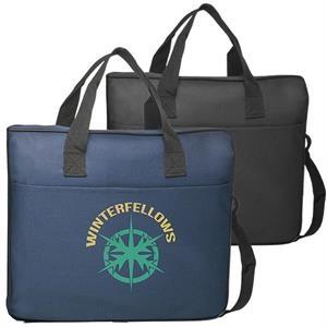 Laptop Bag - Polyester laptop bags w/ Shoulder strap & Zip