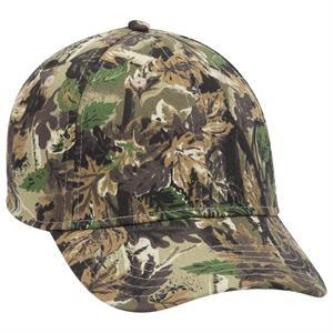 "Stretchable Camouflage Cotton Twill ""OTTO FLEX"" 6 Panel Cap"
