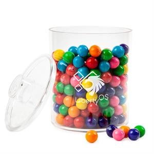 Acrylic Cylinder with Gum Balls
