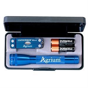 AA Mini Maglite® with Leatherman Micra® Tool
