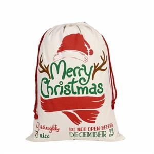Holiday gifts Large Cotton canvas bag