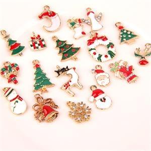 Craft Jewelry Christmas Series Alloy Collar Lapel Pin