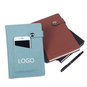 Notebook with a Pocket
