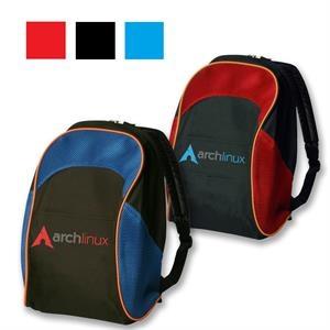 Classic Two-Tone School Backpack