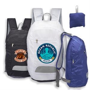 Collapsible Lightweight Silk Backpack w/ Front Pocket