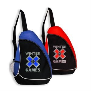Slingshot Two-Tone Backpack w/ Side Mesh Bottle Pocket
