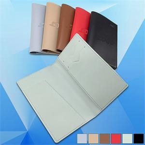 PU Leather Passport/Credit Card Wallet