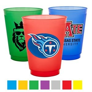 16 oz. Frosted Stadium Cup w/ Flexible Plastic Stadium Cups