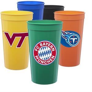 Large Stadium Cup w/ Custom Imprint 32 oz. Stadium Cups