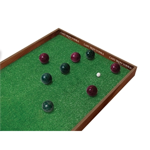 Portable Bocce Ball Game Set - Imprinted and Full Color