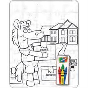 Coloring Puzzle Set - Real Estate (35 Pieces)
