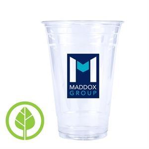 20 oz. Eco-Friendly Clear PLA Plastic Cup