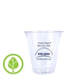 12 oz. Compostable Eco-Friendly PLA Plastic Cup