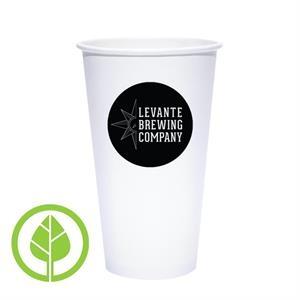 20 oz. Compostable Eco-Friendly Paper Cup