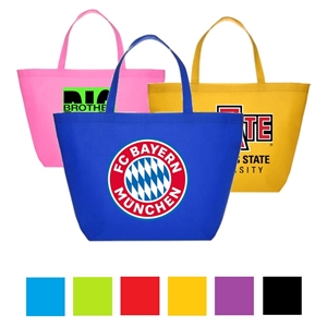 Budget Non Woven Polypropylene Tote Bag Convention Tote Bags