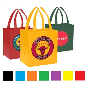 USA Decorated Grocery Value Non Woven Tote Bag Convention