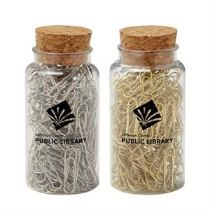 Paperclips in Jar