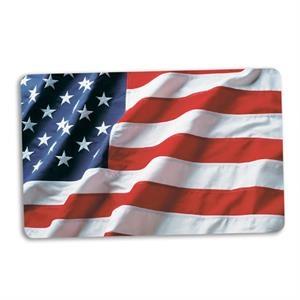 American Flag Plastic Card