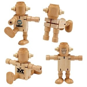RoboDroidBot Poseable Fidget Toy