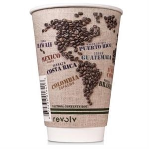 16 oz Disposable Paper Insulated Cup