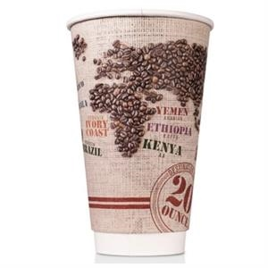 20 oz Disposable Paper Insulated Cup