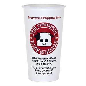 22 oz Disposable Paper Cold Cup