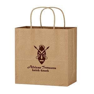 "Kraft Paper Brown Wine Bag - 13"" x 13"""