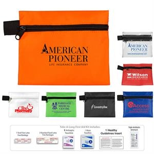 Tag-A-Long Plus 8 Piece First Aid Kit
