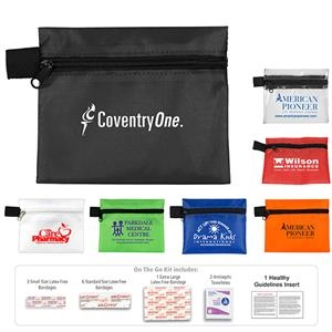 Riverside 13 Piece First Aid Kit In Zipper Pouch