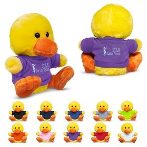 """7"""" Plush Duck with T-Shirt"""