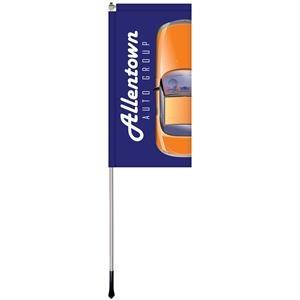 2.5' x 5' Custom Single Reverse Windchaser Flag Kit