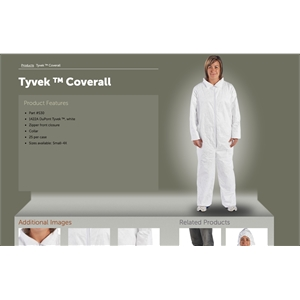 TYVEK ISOLATION GOWNS- ALL SIZES- IN STOCK