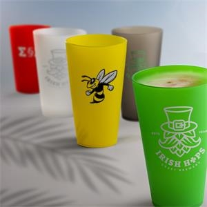 Frosted Plastic Cups