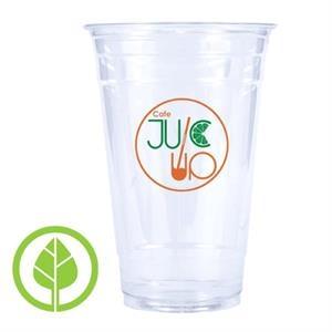 24 oz. Compostable Eco-Friendly PLA Plastic Cup