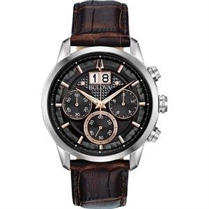 Bulova Men's Strap Watch - Sutton Big Date Collection