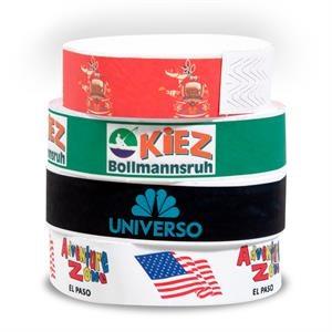 Full Color Custom Tyvek Wristband
