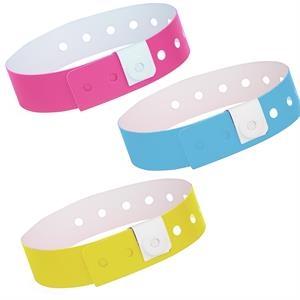 Stock L-Shaped Plastic Wristband