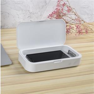 UVC Germ Safe Phone Sterilizer Case w/10W Wireless Charger